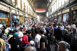 Souk Hamadiyeh à Damas.