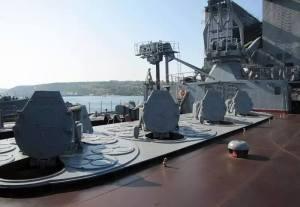Le croiseur Moskova.