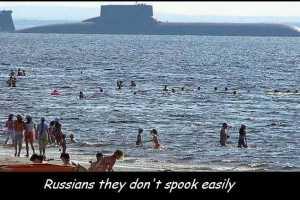 Le Dimitri Donskoy,le plus gros sous-marin au monde.