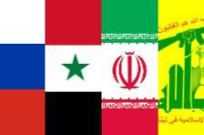 zones d'influences en Syrie