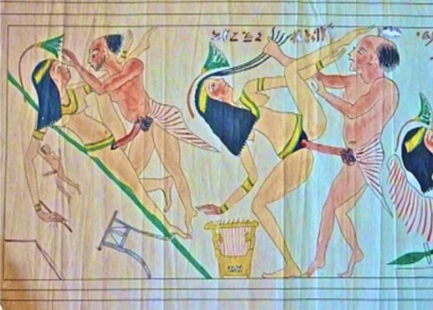 Papyrus pornographique de Turin