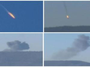 Mardi matin,le 24 novembre 2015...un Sukov-24 russe abattu par l'aviation .