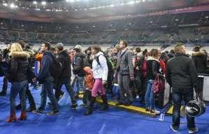 L'explosion au stade de Paris...vient d'avoir lieu.La première!