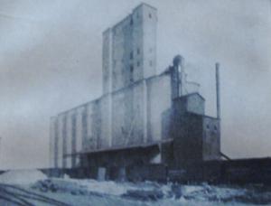 1914-un élévateur à grains à St-Joseph,Missouri aux USA.