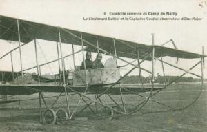 Carte postale  française  Avion