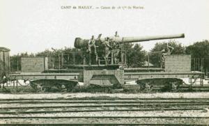 Carte postale  française  canon