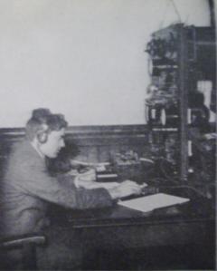 Première Guerre Mondiale-Poste de radio sans fil de l'US Army.