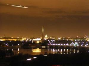 La célèbre photo de Coltons Point montrant les ovni au-dessus de Washington.