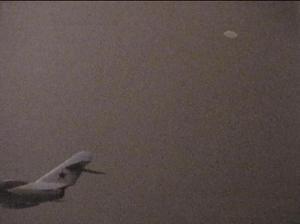 Même l'aviation militaire pris cette photo au-dessus de la Corée du Nord en 1952.