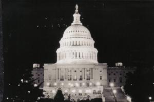 La fameuse vague ovni des années '50 aura été marquée par le survol du Capitole en juillet 1952.