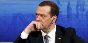 Le premier ministre russe Dimitry Medvedev