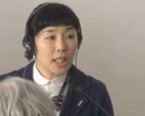La journaliste Mako Oshidori a été mise en garde.