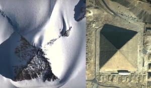 Des pyramides apparaissent sans aucun doute.