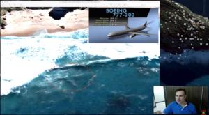 Serait-ce le vol MH370 cet avion sous l'eau?