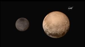 Pluton et Charron (à gauche).
