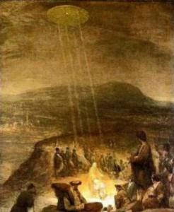De nombreuses oeuvres anciennes  nous transmettent le message d'interventions extraterrestres.