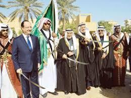 Le président de la france est un  allié de l'Arabie saoudite.