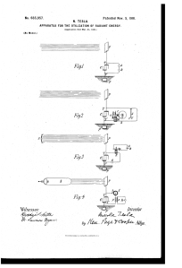 Des plans pour une machine à énergie solaire.