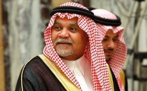 Le prince Bandar d'Arabie Saoudite.