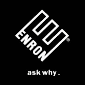 Le logo d'enron...prédestiné on dirait:Ask why (!)