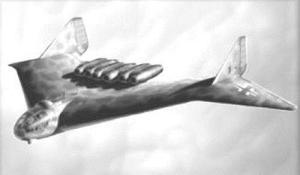 L'Arado 555 était le bombardier le plus secret et possédant la technologie la plus sophisticée de la Deuxième Guerre Mondiale.Les allemands n'ont pas eu le temps de le fabriquer,mais il aurait pu emporter la bombe atomique jusqu'à New York.Cet appareil semble avoir 20 ans d'avance sur son temps,car un ingénieur en a fait un modèle réduit qui fonctionne.