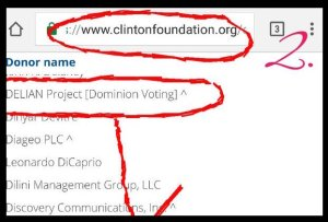 dominion-voting-fondation-clinton