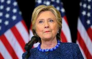 Elle semble plus vieille sur cette photo prise en Ohio le 28 octobre 2016.