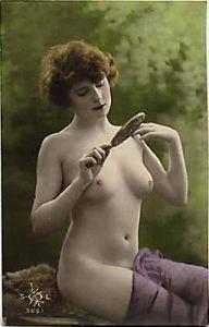 Une carte postale colorisée des années '20.
