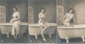Un petit trio de photos très rares.