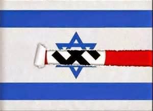 drapeaux-israel-nazi