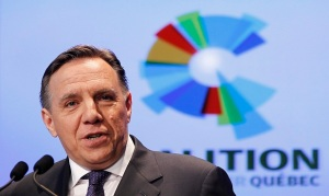 Coalition Avenir Quebec (CAQ) co-founder Francois Legault