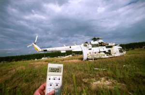 Plus de 30 ans après le désastre:les radiations sont  toujours là,dans l'environnement.