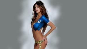 Melissa Satta Elle porte à merveille les couleurs de l'Italie !
