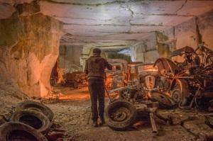 Cinquante-six ans Vincent Michel, un professeur d'éducation physique, est originaire de Belgique. Sur le côté, il est un passionné de photographie et explorateur des environnements urbains. Et ce fut au cours d'une de ses expéditions dans un tunnel minier français qu'il a fait une découverte étonnante.