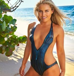 Lindsey Vonn La belle skieuse américaine a accepté de jouer le jeu pour Sport Illustrated avec un maillot une pièce qui fait très vrai