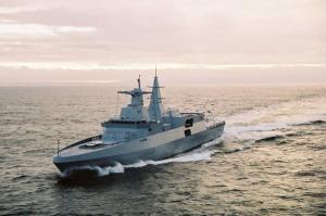 Le SAS Mendi Malgré son poids lourd, la frégate a une vitesse merveilleuse de 30 noeuds. Il a de multiples systèmes de radar pour détecter tous les ennemis à venir.