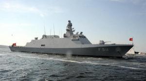 TCG Heybeliada Bien qu'il ne soit pas un navire de guerre proprement dit, il a des fonctionnalités avancées comme le système anti-aérien. Le navire de patrouille est connu pour sa capacité de furtivité.Il appartient à la marine turque.