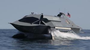 """The Juliet Marine """"Ghost"""" Ceci est l'un des navires de guerre les plus rapides et furtifs appartenant à la marine américaine. Il est populaire par son surnom """"Ghost""""."""