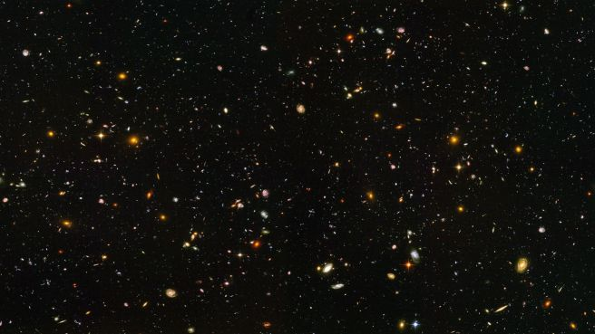 Hubble ultra deep field high resolution