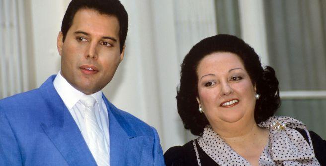 Freddie Mercury et Montserrat Caballe